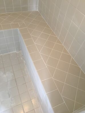 Shower Re-grout in Peoria, AZ (5)